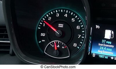 Tachometer, Tach, Gauge, Measure, Automotive