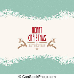 merry christmas winter background