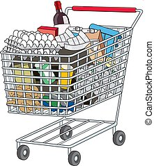 shopping cart - illustration