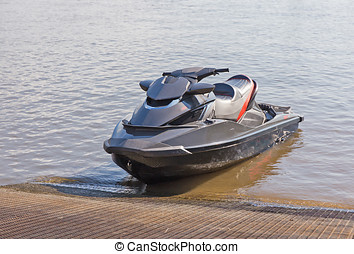 jetski - jet ski at the pier