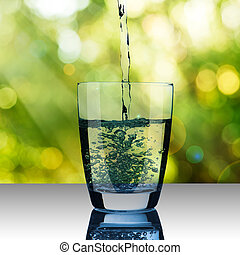 Glass of Water - Glass of Drinking Water
