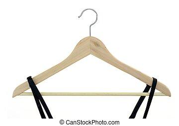 Coat Hanger - A close up shot opt a coat hanger
