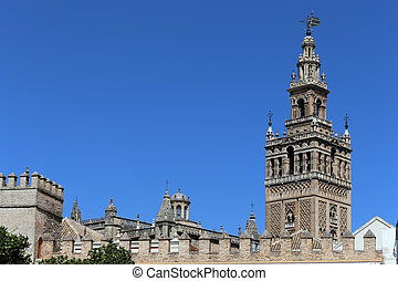 Cathedral of Seville -- Cathedral of Saint Mary of the See,...