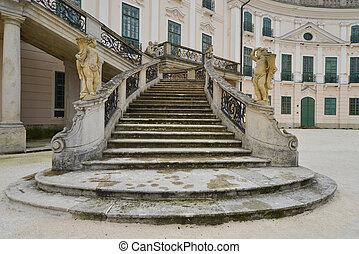 Staircase in the Esterhazy Castle