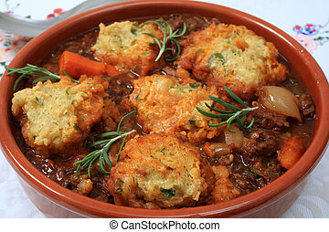 Traditional British stew - A traditional British stew,...