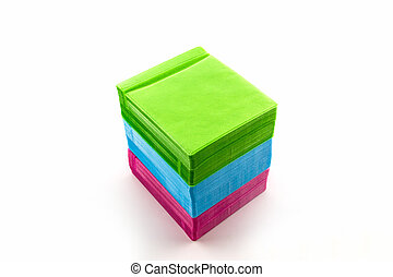Colorful of CD paper case . - Colorful of CD paper case on...