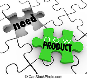 New Product FIlling Need Business Service Sell Customers...