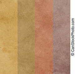 Earthy background with color set style and design element.