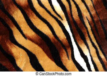 Tiger stripe texture as pattern for background