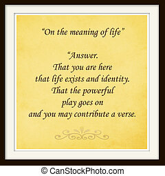 inspiration - life quote Inspirational quote by Walt Whitman...