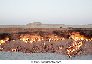 Turkmenistan - Door to Hell, Derweze, Turkmenistan Door to...