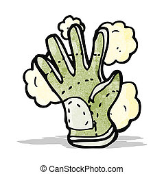 cartoon protective glove