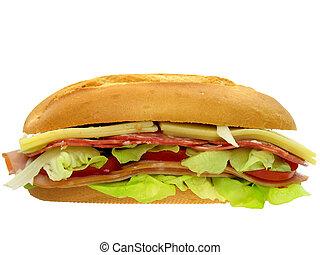 Sub sandwich - sandwich, sub, submarine,