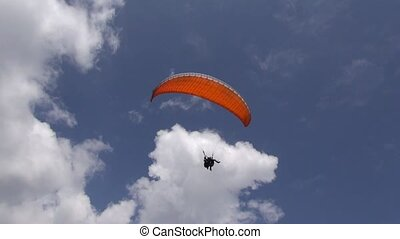 Above, Overhead, Parasailing, Extreme Sports
