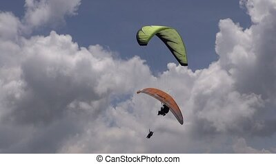 Double, Pair, Two, Tandem, Parasail, Extreme Sports