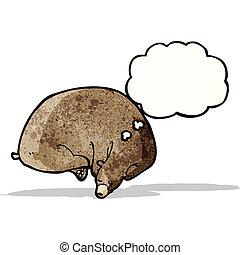 sleeping bear cartoon