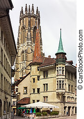 Fribourg Cathedral,Switzerland - The Cathedral of St...