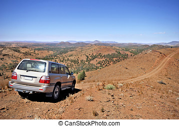 Flinders National Park in Australia - 4 wheel drive in...