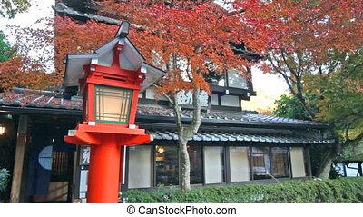 Kurama-dera - Kyoto, Japan - November 22, 2013: Kurama-dera...