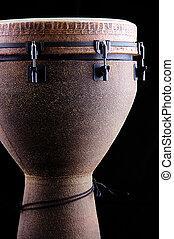 negro,  conga, tambor,  Djembe, africano