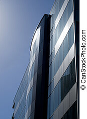 Glass office building, Auckland , New Zealand