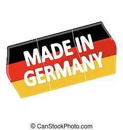 "price tag ""MADE IN GERMANY"""