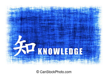 Chinese Art - Knowledge - Chinese Art for Knowledge on Blue...
