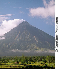 Mayon Volcano 2909 - Renowned as the Perfect Cone because of...
