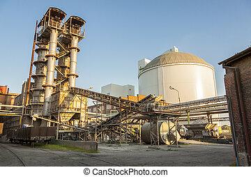 Sugar-refinery - Sugar refinery.