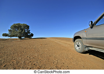 four wheel drive - 4 wheel drive in Flinders National Park...