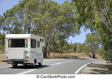 Mobile home on its way in Australia