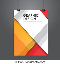 creative business poster template - abstract creative...