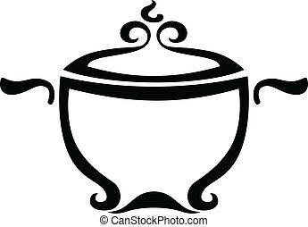 Stylized image of pan