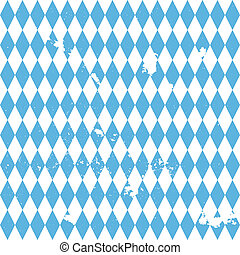 grungy Bavarian Background - detailed illustration of a...