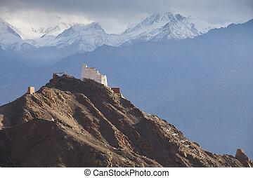Tsemo Gompa, Leh, Ladakh, Jammu & Kashmir, India