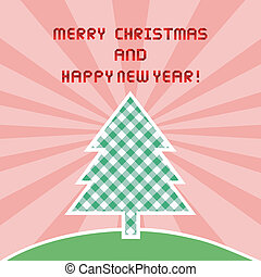 MC and HNY greeting card1 - Card for Merry Christmas and...