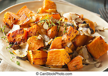 Homemade Cooked Sweet Potato