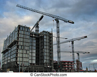 Construction project 2 - Large construction project in a...