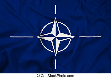Waving Nato Flag