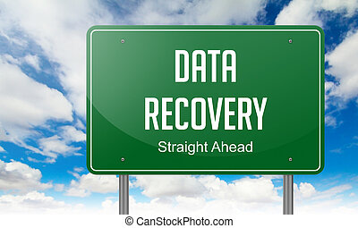 Data Recovery on Highway Signpost.