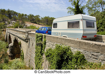 Caravan in France