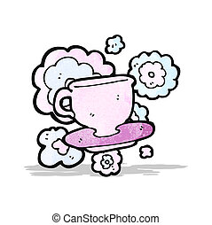 cartoon teacup