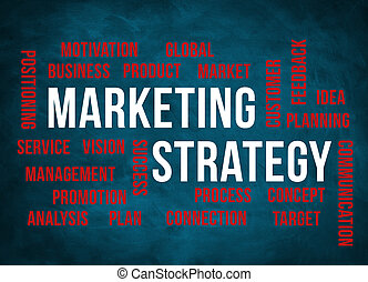 MARKETING STRATEGY - chalkboard concept