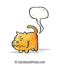 cartoon farting cat