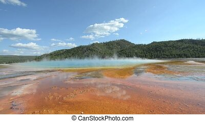 Grand Prismatic Yellowstone Nationa - Grand Prismatic Spring...
