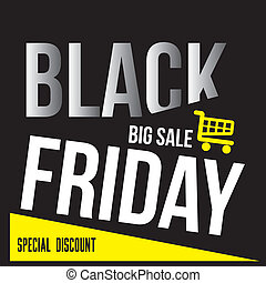 black friday - a black background with white text and a...