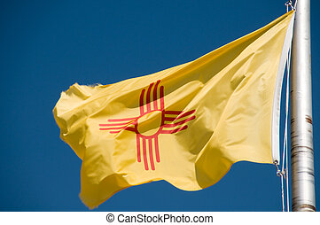 New Mexico flag - New Mexico Flag