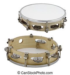 drum - The image of drum under the white background