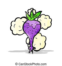 cartoon beetroot