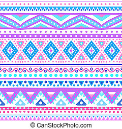 Tribal ethnic seamless stripe pattern Vector illustration...